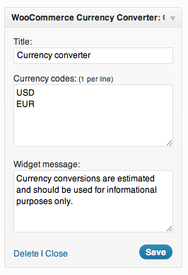 currency-converter-widget